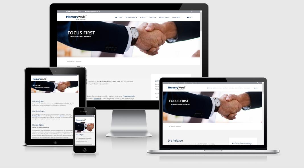 Re-Design unserer Webseite